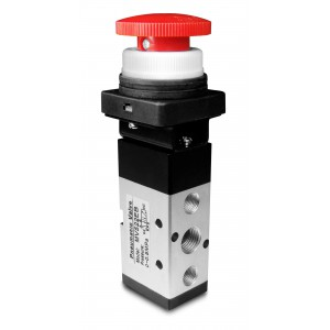 Ручний клапан 5/2 MV522EB 1/4 дюймових приводів