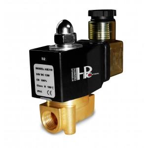Соленоїдний клапан 2N08 1/4 230В або 24В, 12В Вітон - стійкий до хімічних речовин