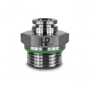 Штепсельний штекер з нержавіючої сталі шпильки 10мм з пряжкою 3/8 дюйма PCS10-G03
