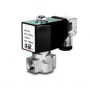 Соленоїдний клапан високого тиску HP15-M з нержавіючої сталі SS304 110 бар