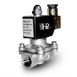 Соленоїдний клапан 2N15 1/2 дюйма з нержавіючої сталі SS304 Viton