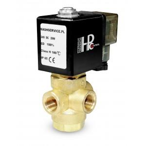 3-провідний електромагнітний клапан 3V 3x1 / 4 дюйма 230V 24V 12V