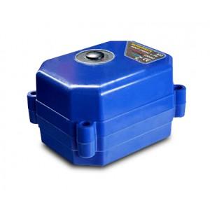 Шариковий кран електричний привід 9-24V DC A80 2-провідний