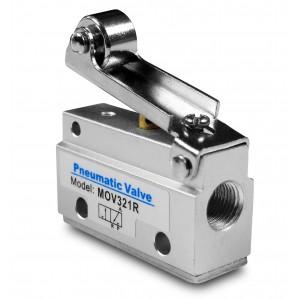 Ручний клапан 3/2 MOV321R 1/8 дюймів приводів