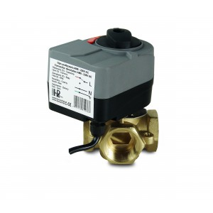 Клапан змішування 4-стороння 1 1/4 дюйма з електричним приводом AM8