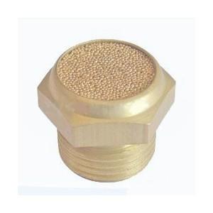 Вихлопний глушитель повітря BSLM 1/4 дюйма - короткий