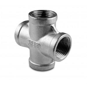 Труба з нержавіючої сталі з'єднує внутрішню різьбу 4 x 3/4 дюйма