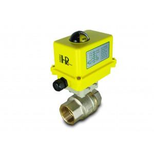 Кульовий клапан 1 1/2 дюймовий DN40 з електричним приводом A250