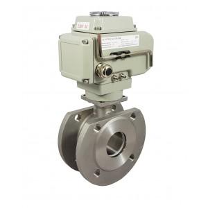 Кульовий клапан з нержавіючої сталі 2 1/2 дюймовий DN65 з електричним приводом A1600