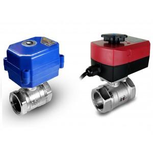 Кульовий клапан 1 1/4 дюйма з електричним приводом A80