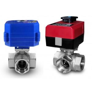3-ходовий кульовий клапан 5/4 дюйма з електричним приводом A80