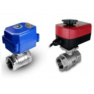 Кульовий клапан з нержавіючої сталі 1/2 дюйма з електричним приводом A80 або A82