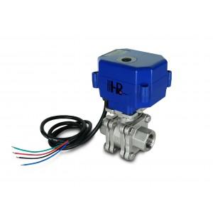 М'який кран 1/2 дюйма з нержавіючої сталі PN125 з електричним приводом A80 або A82