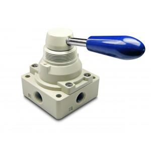 Ручний клапан 4/3 4HV230-08 1/4 дюймових приводів