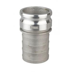 Роз'єм Camlock - тип E 1 1/2 дюйма DN40 Алюміній
