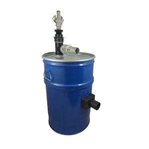 Бак для пилососа 60л з очищенням фільтра стисненого повітря