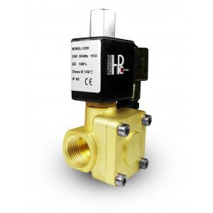 Соленоїдний клапан 2K25 відкритий NO 1 дюйм 230 В або 12 В 24 В