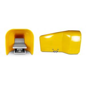 Ножний клапан, педаль повітря 5/2 1/4 для циліндра 4F210LG - бістабільний з кришкою