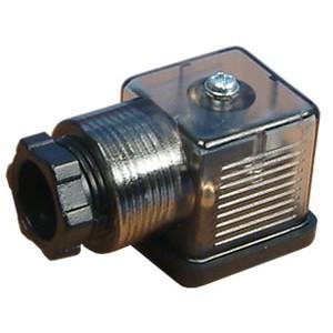 Підключіть до електромагнітного клапана 18 мм DIN 43650 зі світлодіодним індикатором