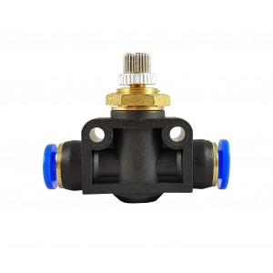 Прецизійний регулятор потоку дросельний клапанний шланг 12 мм LSA12