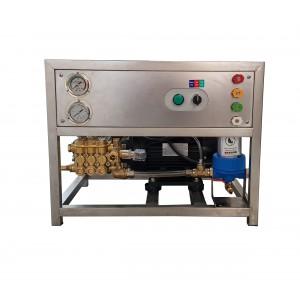 Встановіть насос і двигун на рамі для миття з аксесуарами 13 л / хв 150 бар еквівалент CAT350