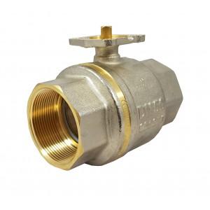 Шариковий кран 1 монтажна плита 1/2 дюйма DN40 PN25 ISO 5211