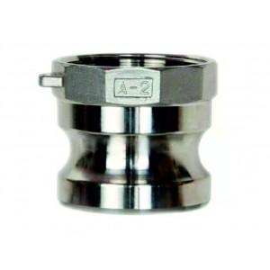 Роз'єм Camlock - тип A 3/4 дюйма DN20 SS316