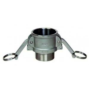 Роз'єм Camlock - тип B 3/4 дюйма DN20 SS316