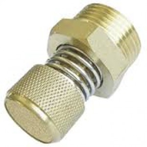 Глушник витяжки повітря з регулятором потоку BESLD 1/2 дюйма