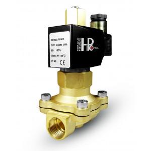 Соленоїдний клапан відкритий 2N25 NO 1 дюйм 230 В або 12 В, 24 В, 42 В