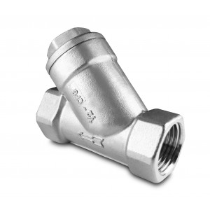 Кутовий фільтр сетсер 1 дюйм з нержавіючої сталі SS304