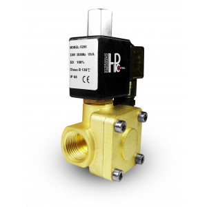 Соленоїдний клапан відкритий 2K15 NO 1/2 дюйма 230 В або 12 В 24 В