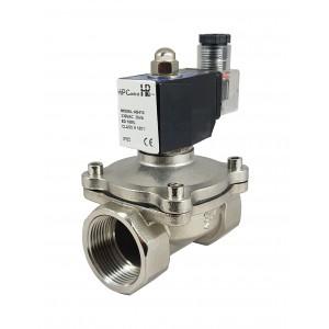 Соленоїдний клапан 2N32-M-SS DN32 1 1/4 дюймовий нержавіюча сталь SS304 Viton