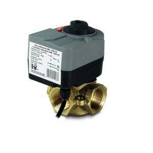 Клапан змішувача 3-х сторонний 1 дюйм з електричним приводом AM8