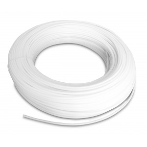 Поліамідний пневматичний шланг PA Tekalan 12/10 мм 1м білий