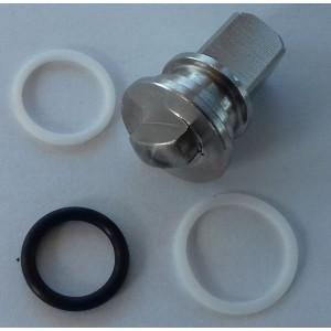 Ремонтний комплект клапана 3 способи. wysokociśnien. 3/8 і 1/2 дюйма ss304 HB3
