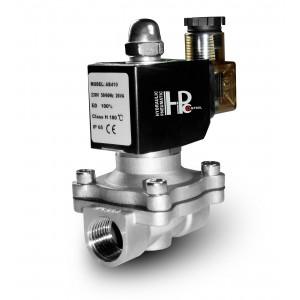Соленоїдний клапан 2N25 1 дюймовий нержавіюча сталь SS304 Viton