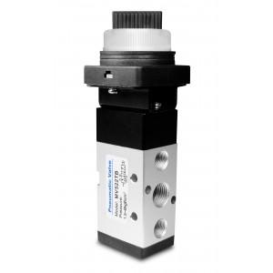 Ручний клапан 5/2 MV522TB 1/4 дюймових приводів