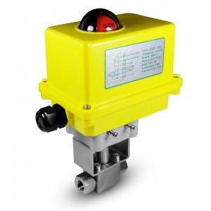 Шарикопідшипник високого тиску 1/4 дюймовий SS304 HB22 з електричним приводом A250