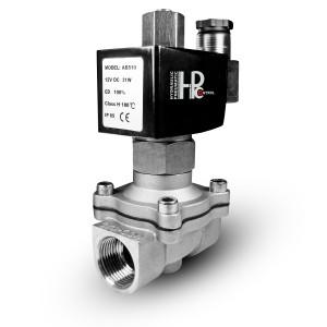 Електромагнітний клапан відкритий нержавіючої сталі SS304 Viton 2N25 NO 1 дюйм