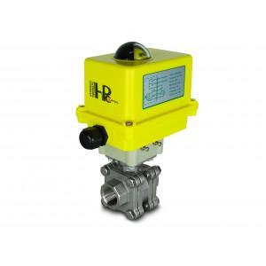 Кульовий кран з нержавіючої сталі 3/4 дюйма DN20 PN125 з електричним приводом A250