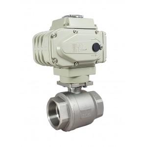 Кульовий клапан з нержавіючої сталі 1 1/2 дюйма DN40 з електричним приводом A500