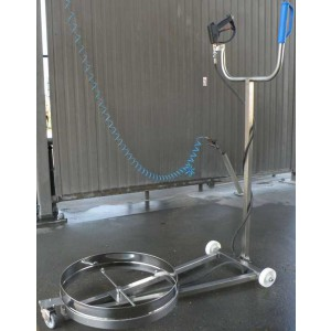 Пристрій для прання автомобільного шасі - мийка автомобільного шасі