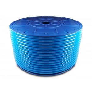 Поліуретановий пневматичний шланг PU 6/4 мм 200м синій