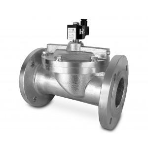 Фланцевий електромагнітний клапан DF80-NO DN80