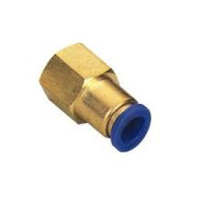 Штепсель штекерний штекер 6мм внутрішня різьба 1/4 дюйма PCF06-G02