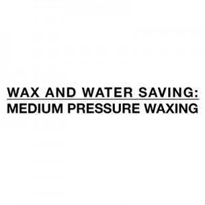 Збереження води та воску - воском середнього тиску