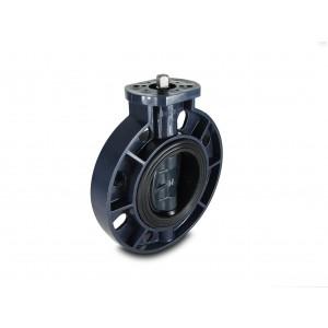Метеличний клапан, дросель UPVC DN100