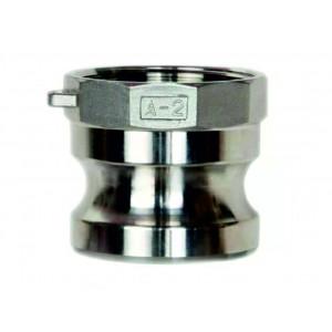 Роз'єм Camlock - тип A 1 1/4 дюйма DN32 SS316